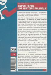 Verso de (DOC) Études et essais divers - Super-héros une histoire politique