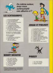 Verso de Johan et Pirlouit -9c1981- La flûte à six schtroumpfs