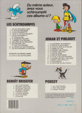 Verso de Johan et Pirlouit -12b1983/10- Le pays maudit
