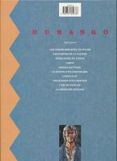 Verso de Durango -3c1992- Piège pour un tueur