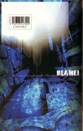 Verso de Blame! -10- Tome 10