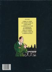 Verso de Dick Hérisson -6a1998- Frères de cendres