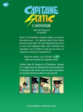 Verso de Capitaine Static -2- L'imposteur