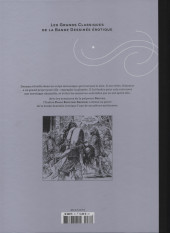 Verso de Les grands Classiques de la Bande Dessinée érotique - La Collection -7045- Druuna - Tome 8 Clone