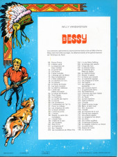 Verso de Bessy -71a1980- La disparition de cœur vaillant