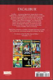 Verso de Marvel Comics : Le meilleur des Super-Héros - La collection (Hachette) -76- Excalibur
