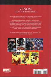 Verso de Marvel Comics : Le meilleur des Super-Héros - La collection (Hachette) -77- Venom (flash thompson)
