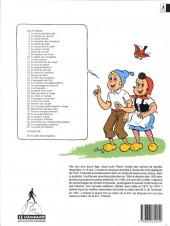 Verso de Sylvain et Sylvette -2b1994- La chasse au canard