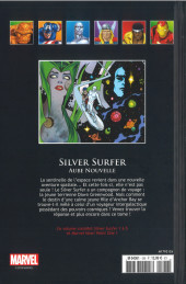 Verso de Marvel Comics - La collection (Hachette) -12699- Silver Surfer - Aube Nouvelle