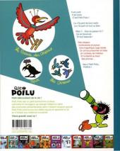 Verso de Petit Poilu -19a2018- Le prince des oiseaux