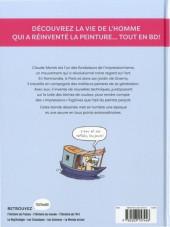 Verso de L'histoire de l'art en BD -3- Monet et les impressionnistes