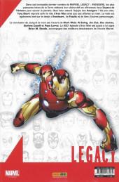 Verso de Marvel Legacy - Avengers (Marvel France - 2018) -7- Jusqu'à la mort (V)