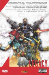 Verso de Marvel Legacy - Deadpool (Marvel France - 2018) -7- L'univers Marvel massacre Deadpool