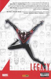 Verso de Marvel Legacy - Spider-Man (Marvel France - 2018) -7- Adieu?