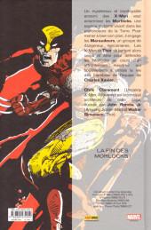 Verso de X-Men : Le massacre mutant