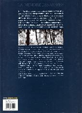 Verso de La mémoire des arbres -12- Le Tempérament de Marilou - 2