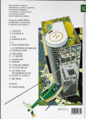 Verso de Largo Winch -2c2011- Le Groupe W