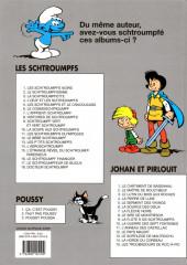 Verso de Les schtroumpfs -10b2011- La soupe aux schtroumpfs