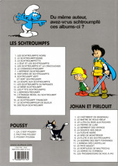 Verso de Les schtroumpfs -6d12- Le cosmoschtroumpf