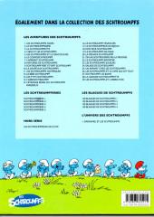 Verso de Les schtroumpfs -27a11a- Schtroumpf les Bains