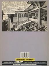 Verso de Les cités obscures -2- La fièvre d'Urbicande