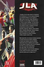 Verso de JLA (Semic Books) - Justice et liberté