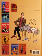 Verso de Monsieur Jean -1b2005- Monsieur Jean, l'amour, la concierge
