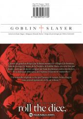 Verso de Goblin Slayer -3- Tome 3