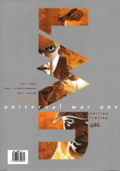 Verso de Universal War One -INT001- Coffret comprenant les 3 premiers tomes