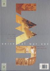 Verso de Universal War One -INT002- Coffret comprenant les 3 derniers tomes