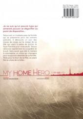 Verso de My Home Hero -1- Volume 1