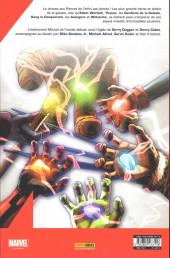 Verso de Infinity Wars -1- Coup d'envoi