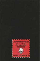 Verso de Evil Ernie (1998) -0- New year's evil