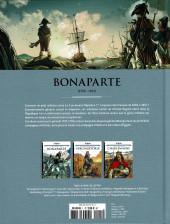 Verso de Les grands Personnages de l'Histoire en bandes dessinées -1- Bonaparte