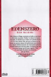 Verso de Edens zero -2- Tome 2