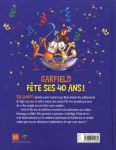 Verso de Garfield -HS11- Garfield fête ses 40 ans !