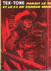 Verso de Tex-Tone -354- Le salaire de Joson