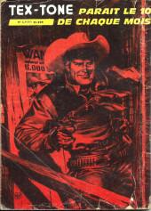 Verso de Tex-Tone -441- Le rancunier