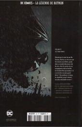 Verso de DC Comics - La légende de Batman -3773- LES CINQ STADES