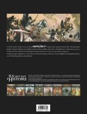 Verso de Ils ont fait l'Histoire -9a2018- Napoléon - Tome 2/3