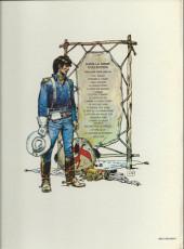 Verso de Blueberry -7a77- Le cheval de fer