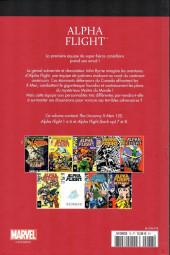 Verso de Marvel Comics : Le meilleur des Super-Héros - La collection (Hachette) -78- Alpha flight