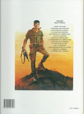 Verso de Bob Morane 2 (Dargaud) -14b1992- La prisonnière de l'ombre jaune