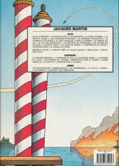 Verso de Lefranc -2c1990- L'ouragan de feu