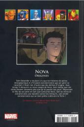 Verso de Marvel Comics - La collection (Hachette) -12794- Nova - Origines