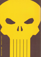 Verso de Punisher Vol.01 (Marvel comics - 1986) (The) -Int- THE PUNISHER Circle of Blood