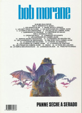 Verso de Bob Morane 3 (Lombard) -21b1991- Panne sèche à sérado