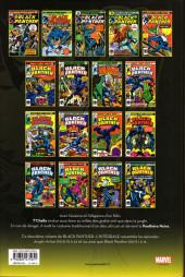 Verso de Black Panther (L'intégrale) -2- L'intégrale 1976-1978