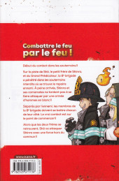 Verso de Fire Force -9- Tome 9