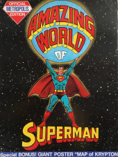 Verso de amazing world of Superman - amazing world of Superman - Official Metropolis Edition